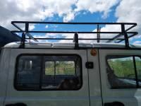 """Багажник """"Фермер"""" на УАЗ 39094, 6 опор, 1,75м"""