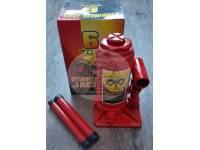 Домкрат бутылочный HYDRAULIC JACK грузоподъемность 6 тонн