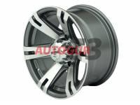 Диск колесный литой УАЗ серый 5x139,7 8xR16 d110 ET-20