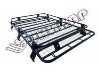 Багажник ВАЗ-2131 Нива корзина с сеткой (6 опор) на водостоки
